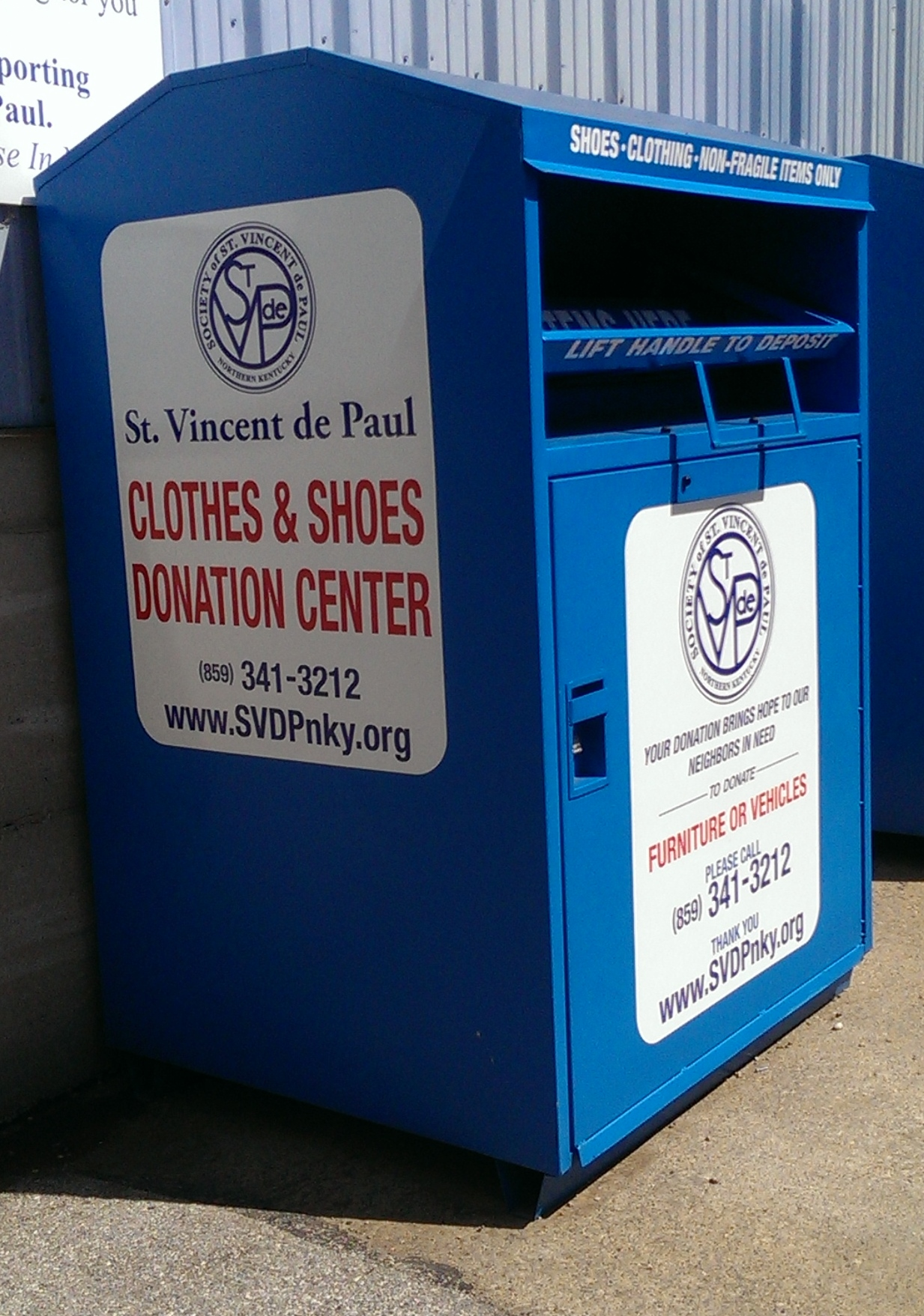 Donate Goods St Vincent De Paul Northern Kentucky