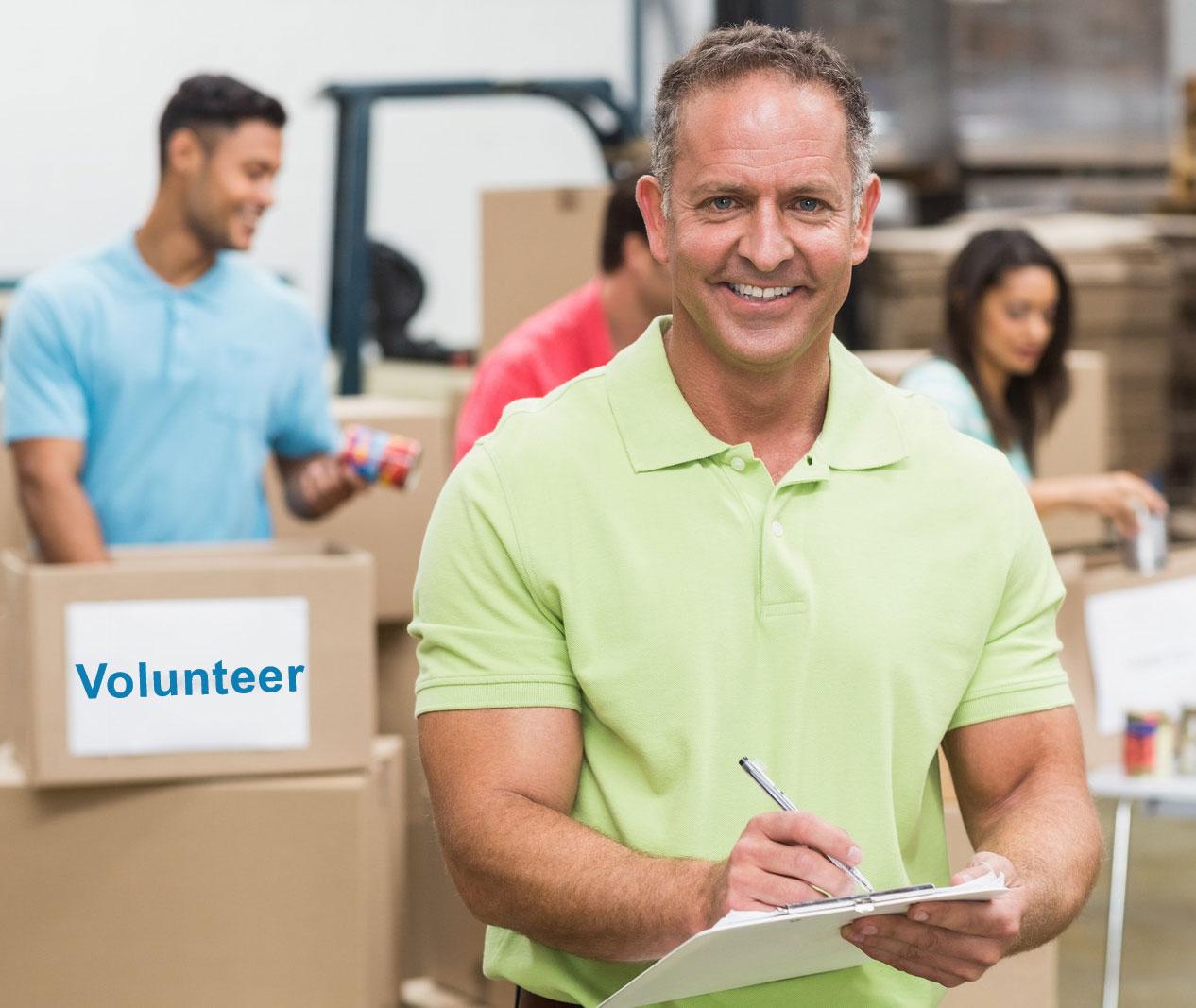 Corporate Volunteer